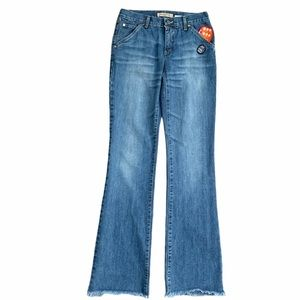 See by Chloe Mid-Rise Roll The Dice Jeans